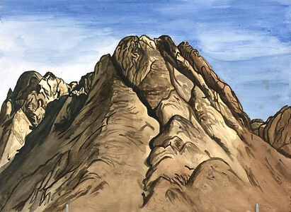 Rudy Shepherd, 'Mount Sinia, Holy Mountain Series', 2015