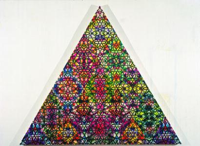 Philip Taaffe, 'Damascene Triangle III', 2008