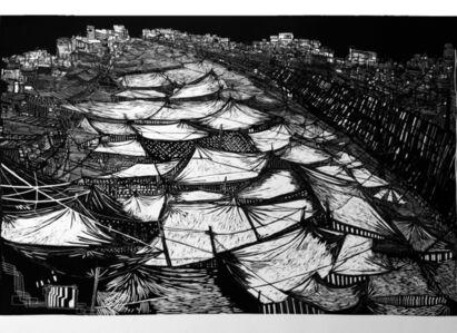 Luisa Estrada, 'Dicen que el bosque se extiende hasta el mar', 2013