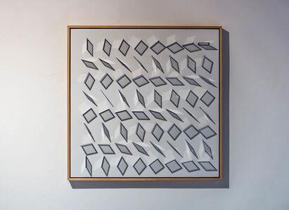 Hartmut Böhm, 'o.t. (8 x 8 ektarahmen)', 2014