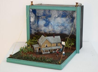 Bryan Michael Greene, 'Cigar Box Diorama Two (Hoosiers)', 2013