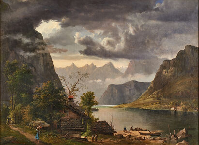 William Holbrook Beard, 'Luzerne, Switzerland', 1854