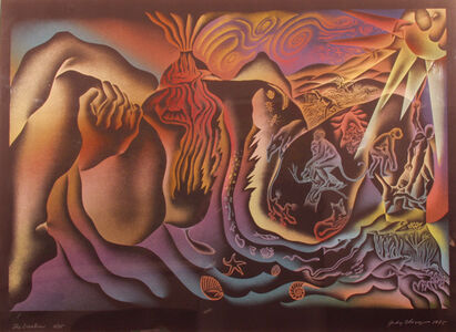 Judy Chicago, 'Creation of the World', 1985