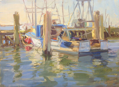 Thomas Cardone, 'Town Dock, Hampton Bays', 2017