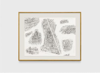 Milton Machado, 'Desenho em que cabem 3 desenhos que cabem, 3 desenhos que faltam e 3 desenhos que sobram', 2019
