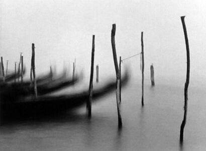 Michael Kenna, 'Gondolas, Venice, Italy.'