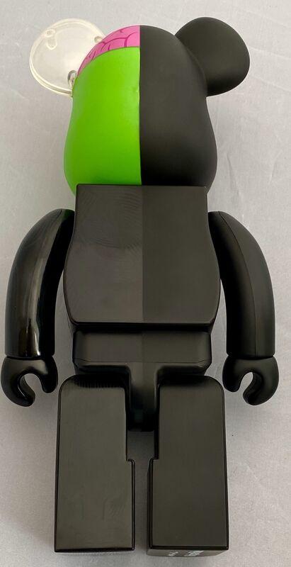 KAWS, 'KAWS Black Dissected 400% Bearbrick Companion (KAWS Be@rbrick 400%)', 2010, Sculpture, Cast Vinyl Figure, Lot 180