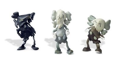 KAWS, 'KAWS Robert Lazzarini Companion (Set of 3) ', 2010