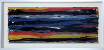 Sol LeWitt, 'Brushstrokes Horizontal', 1993