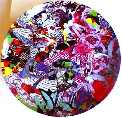 Artist Designed Plates, installation view