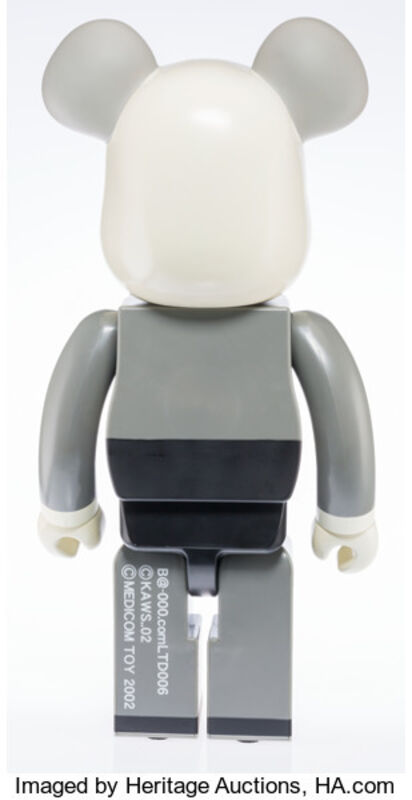 KAWS, 'Companion BE@RBRICK 1000%', 2002, Other, Painted cast vinyl, Heritage Auctions