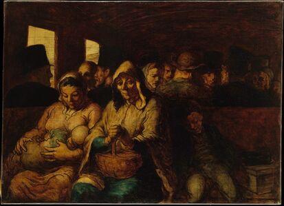 Honoré Daumier, 'The Third-Class Carriage', ca. 1862–64