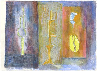 James Rosati, 'UNTITLED (SCULPTURE STUDY)', 1983