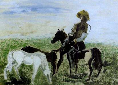 Ossip Zadkine, 'Verts pâturages', ca. 1945