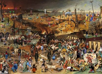Lluis Barba, 'The Triumph of Death, Pieter Brueghel    ', 2010
