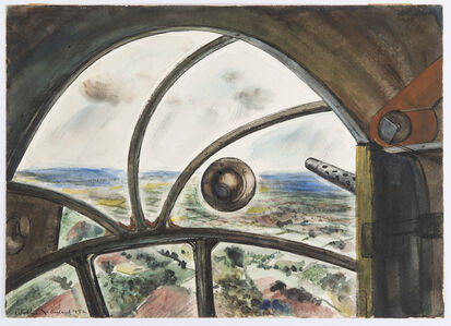 Peter Hurd, 'From a Flying Fortress over England', 1942