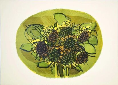Ennio Morlotti, 'Sunflowers ', 1979