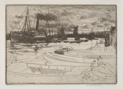 Donald Shaw MacLaughlan, 'Evening Light', 1913