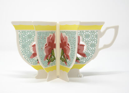 Janice Jakielski, 'Teacup Book Vase', 2020