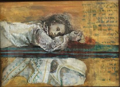 Carolyn Plochmann, 'Untitled (Resting Young Lady)', ca. 1980
