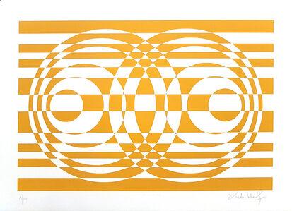 Victor Debach, 'Yellow Composition', 1970s