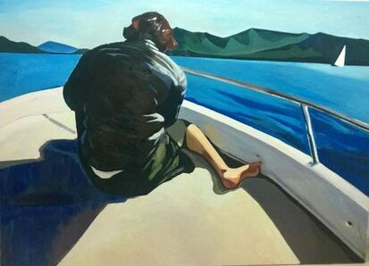 Xiao Jiang, 'A Sailing Boat', 2014