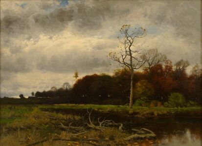 Charles Harry  Eaton, 'Autumn After Rain', 1888