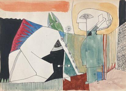 William Baziotes, 'Study for Fallen Angel', circa 1947-48