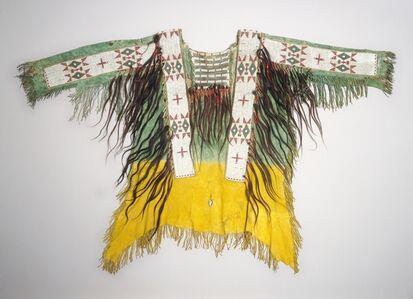 America, Native North American, Central Plains, Lakota Sioux, 19th century, 'Hide Shirt', c. 1890