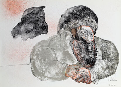 Jose Luis Cuevas, 'Dreams of Rasputin', 1968