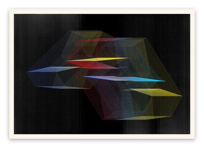 Jesús Perea, 'M377 (Abstract new media)', 2018