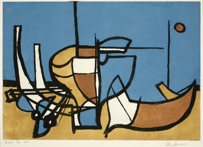 Anthony Harrison, 'Boats', 1955