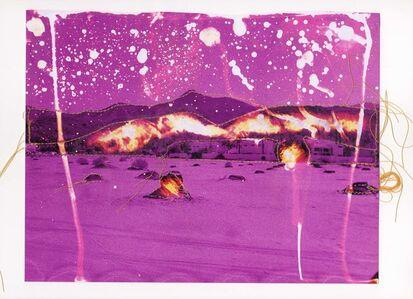 Andrew K. Thompson, 'Untitled (Purple Landscape)', 2015