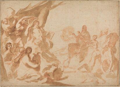 Andrea Sacchi, 'A Sacrifice to Pan', early 1630s