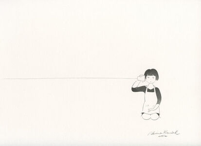 Kondoh Akino, 'Foreigners who are easy to get along and Japanese who are difficult to get along', 2012