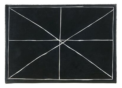 Bob Law, 'Splitting a Double Cross 28.01.00', 2003