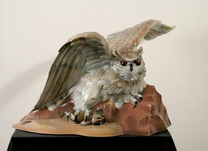 Luis Jimenez, 'Owl (From Progress II)', 1980