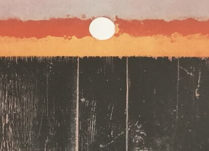 Michael Rothenstein, 'Romantic Sunset', 1972