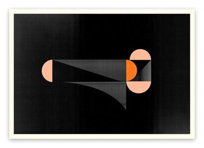 Jesús Perea, 'M288 (Abstract new media)', 2017