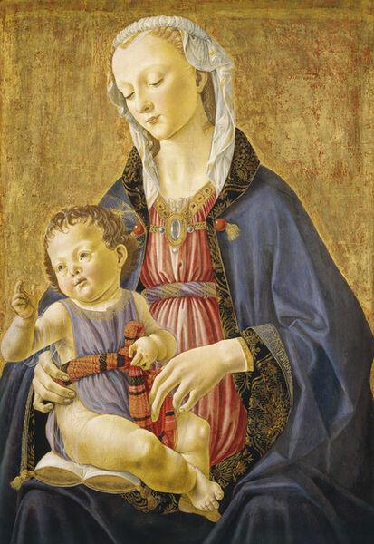 Domenico Ghirlandaio, 'Madonna and Child', ca. 1470/1475
