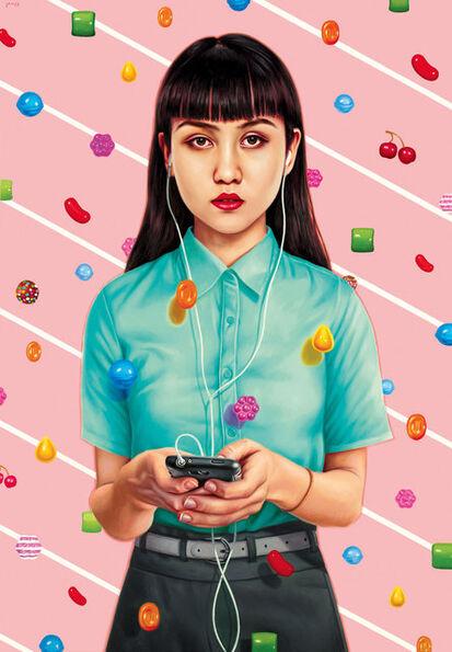 Alex Gross, 'Candy Crush', 2014