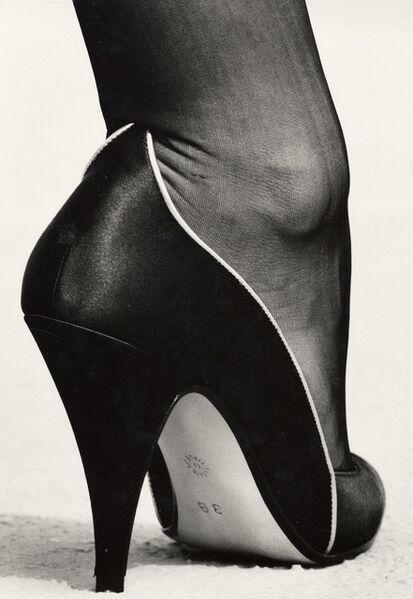 Helmut Newton, 'Shoe, Monte Carlo', 1983