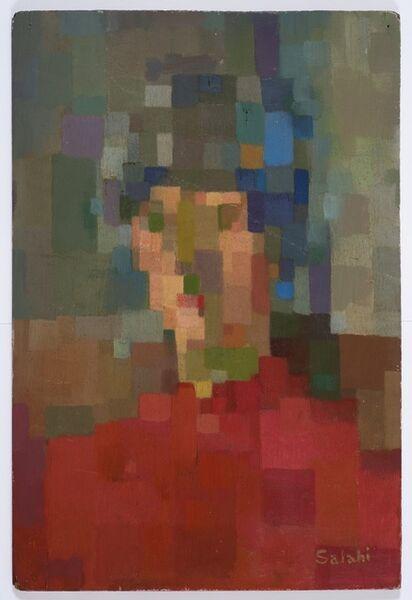 Ibrahim El-Salahi, 'Head II', 1957