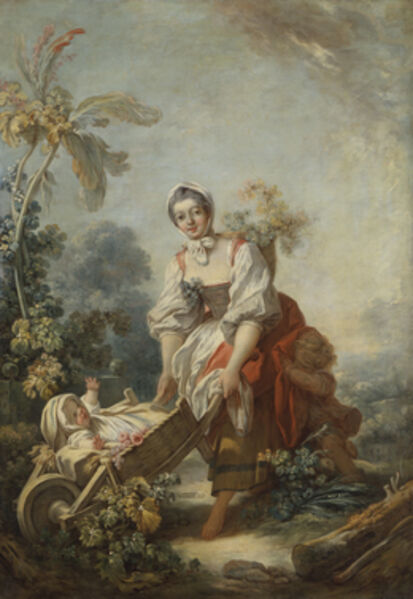 Jean-Honoré Fragonard, 'The Joys of Motherhood', ca. 1754
