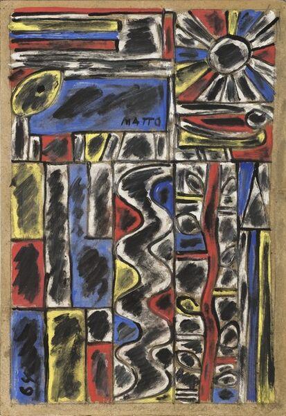 Francisco Matto, 'Constructivo con serpiente y rama', 1964