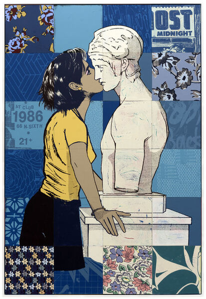 FAILE, 'In worlds between us', 2017