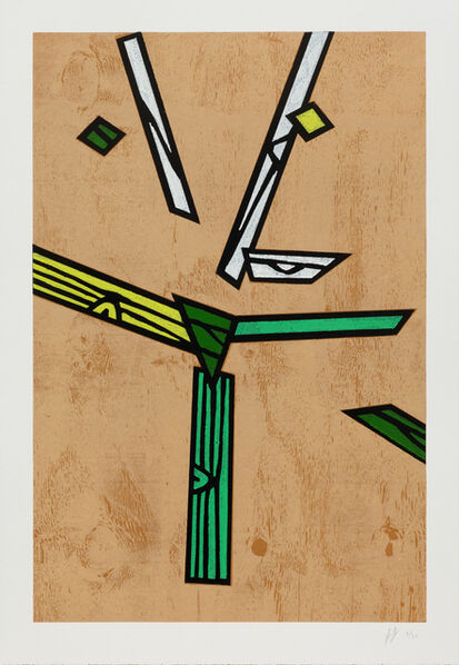 Richard Woods, 'Woodblock Inlay 2', 2011