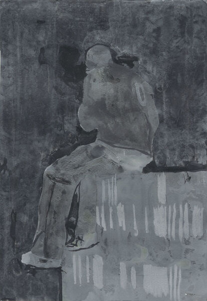 """Hurvin Anderson, '""""Seated Figure 1""""', 2006"""