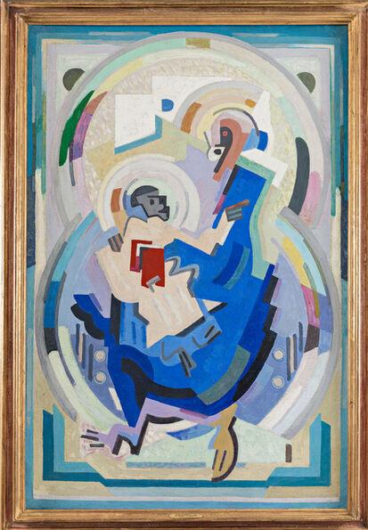 Albert Gleizes, 'La vierge a l'enfant', 1935