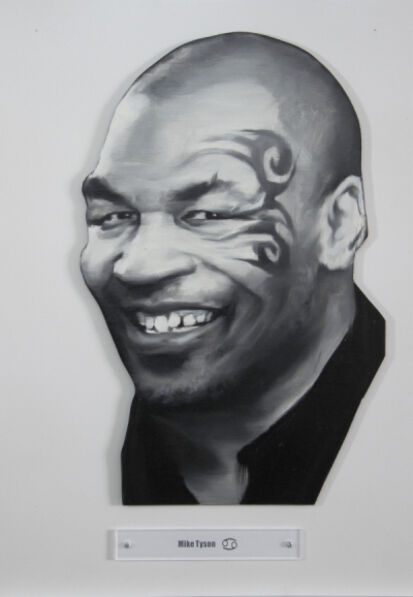 Yao Peng 姚朋, 'Nothing Better - Mike Tyson', 2015